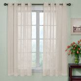 Found it at Wayfair - Odor-Neutralizing Voile Grommet Curtain Panel
