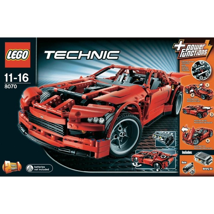 LEGO® Technic 8070 Supercar