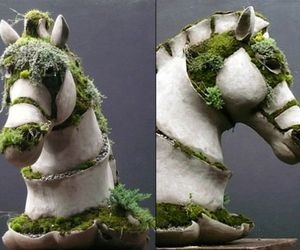 Moss And Concrete Sculptures | Art: Off The Canvas | Pinterest | Concrete  Sculpture, Concrete And Gardens
