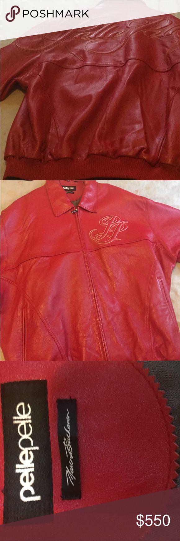 Pelle Pelle $550 Basically BRAND NEW!!! Heavy Duty Leather!Worn maybe twice... NO LOW BALLERS!!! Pelle Pelle Jackets & Coats