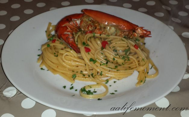 Lobster Linguine Pasta Recipe