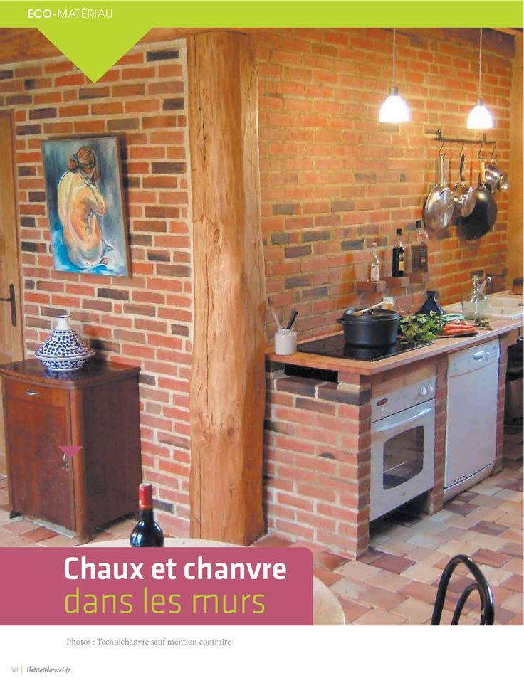7 best Chanvre et chaux en mur et rénovation images on Pinterest - renovation electricite maison ancienne