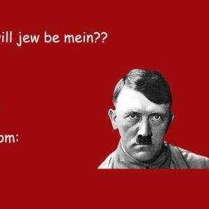 Funny Valentines Day Cards Tumblr Hitler   Valentines Day   Pinterest    Funny Valentine, Humor And Funny Cards