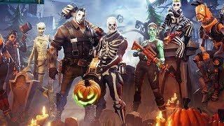 Full Hd Gaming Wallpapers New Fortnite Halloween Update New Halloween Skins In