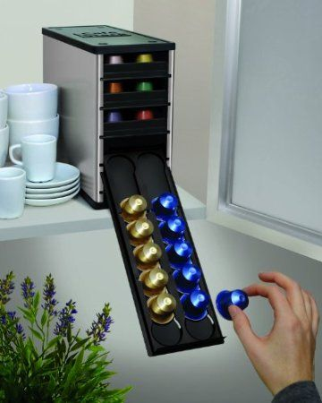 Cafe Stack Organiser, Aluminium: Amazon.co.uk: Kitchen & Home