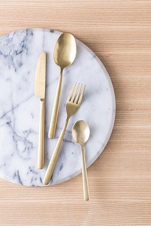 Nolan Gold 24 Piece Cutlery Set