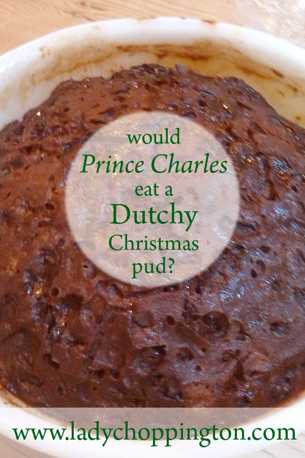 Would Prince Charles eat a Dutchy Christmas pud? http://bit.ly/2e1SwHV