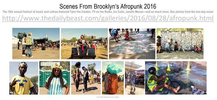 Scenes From Brooklyn's Afropunk 2016 http://www.thedailybeast.com/galleries/2016/08/28/afropunk.html