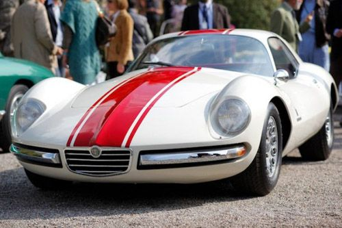 1956 Alfa Romeo 1900 SS Berlinetta, Zagato