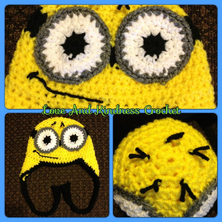 Despicable Me Minion Hat - Comes in ALL sizes - $25-$35 shipped in the US