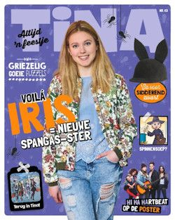 Proefabonnement: 6x Tina € 15,-: Tina is het grootste weekblad voor meisjes met alles over muziek en sterren, mode en make-up, jongens en liefde. Nu 6 nummers voor slechts 15 euro, stopt automatisch!