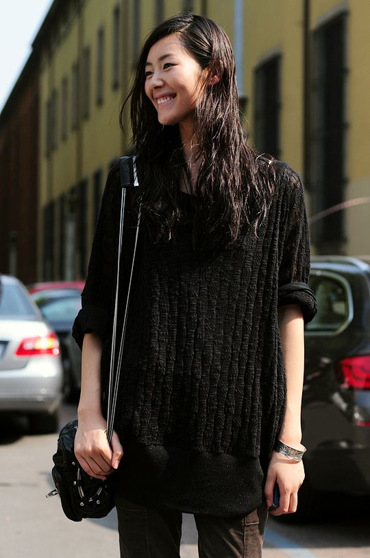 liu wen is soooo beautiful when she smiles  :)