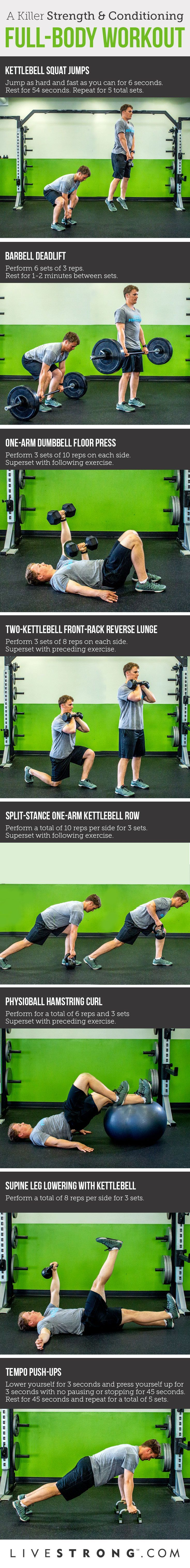 A killer full-body strength-and-conditioning workout.