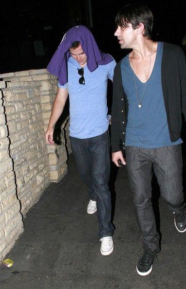 Chris Pine Photos: Chris Pine Leaving The Radiohead Concert
