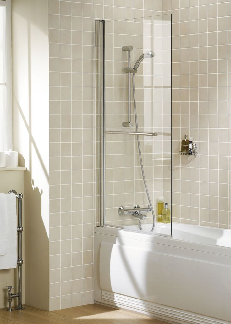 Square Bath Screen    Lakes Bathrooms