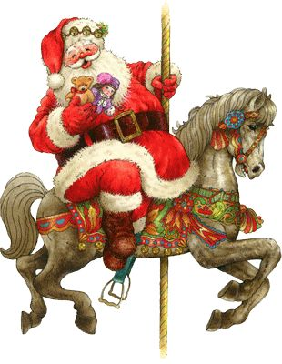17 Best images about Santa and horses on Pinterest | Sacks, White ...