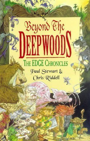 """Beyond the deepwoods"", by Paul Stewart & Chris Riddell - Twig  has been brought up by the Wood Trolls  In the Deepwoods, He attempts to find out where he is from, but wanders of the path and encounters a myriad of peculiar creatures."