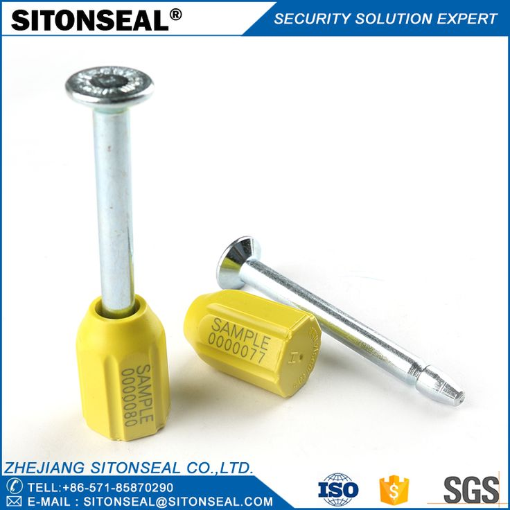 ST-1102 High Security Container Bolt Seal,Logo Oem,Laser printing your company logo and serial number