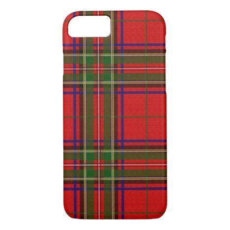 Royal Clan Stewart Tartan Phone Case #tartan #protective #cases