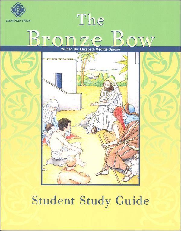 The Bronze Bow Study Guide CD-ROM: Carole Peltarri ...