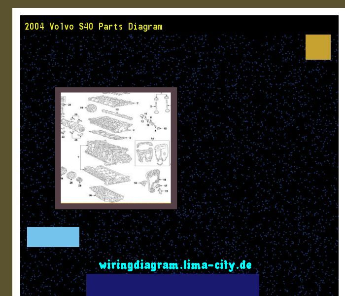 2004 Volvo S40 Parts Diagram  Wiring Diagram 185831