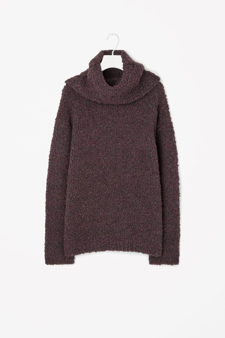 COS   Oversized roll-neck jumper