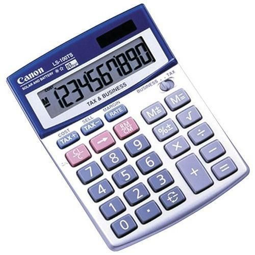 Canon R 5936a028 Ls100ts 10 Digit Calculator Products Calculator Office Equipment Computer Accessories