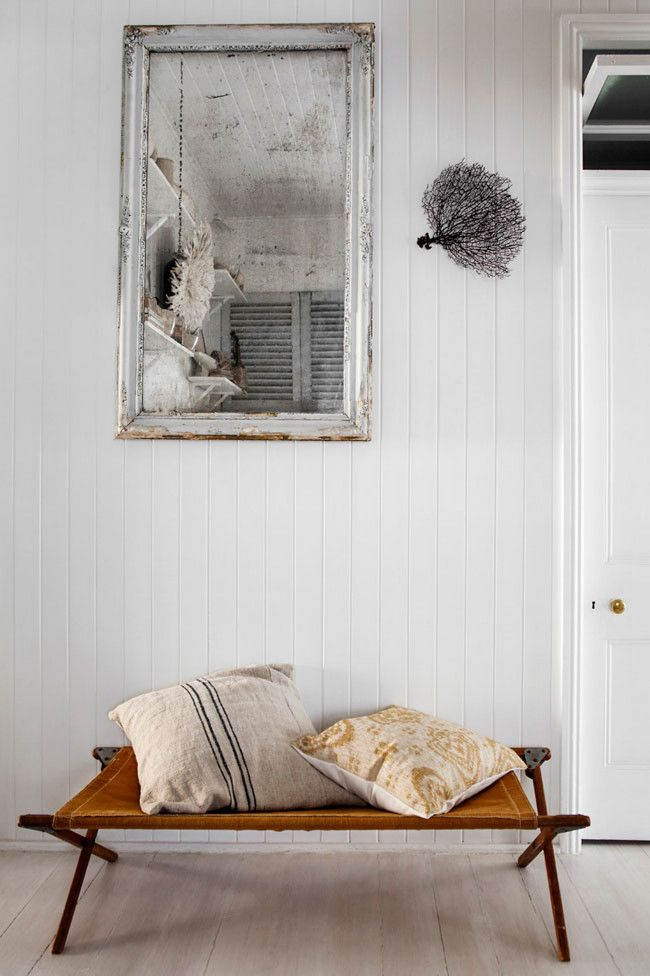 The Cozy Home of the Stylist Kara Rosenlund // I'm starting to like this cute armybeds