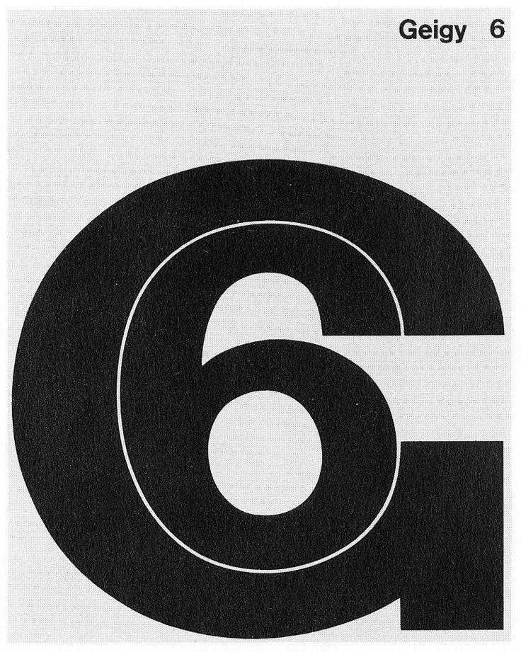 Geigy 6, booklet, August Maurer 1962