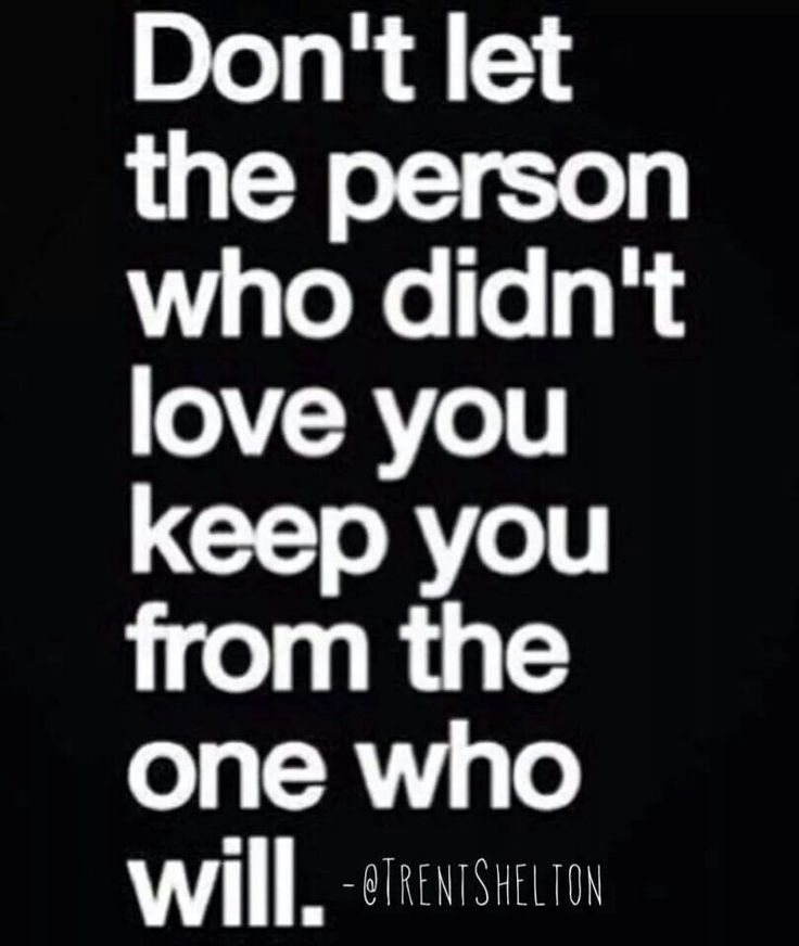 Don't stay in endless relationships or running back 2 someone who did not appreciate you.