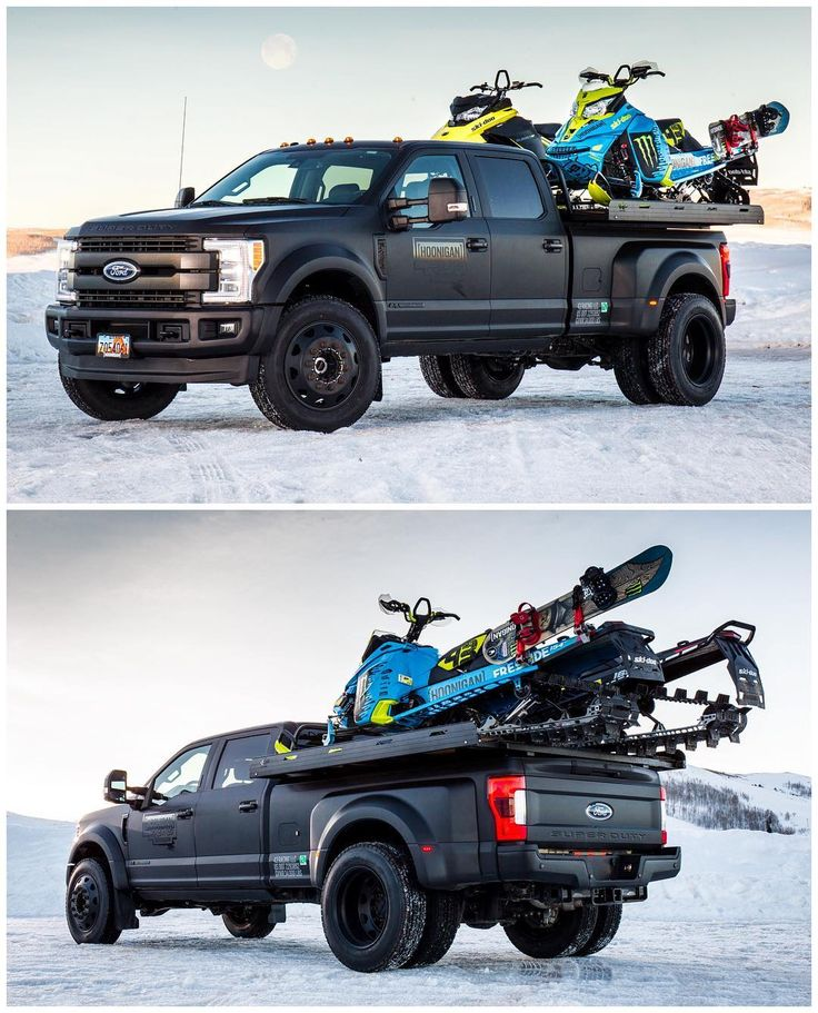 Hoonigan Racing's New '17 Ford F-450 Shop Truck