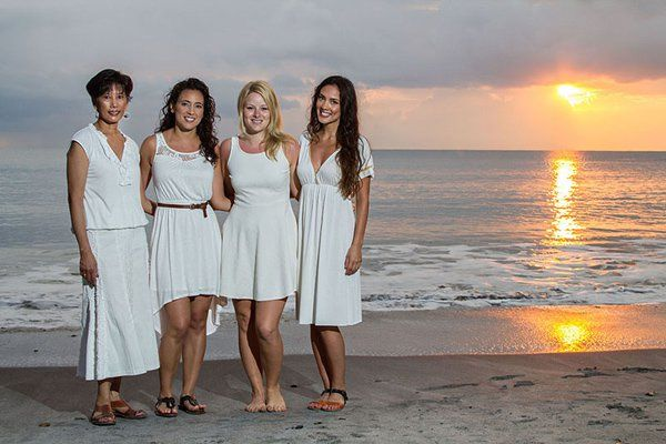 How to Photograph Beach Sunset Portraits