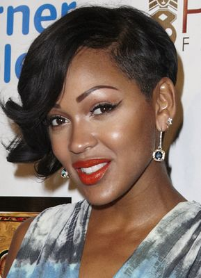 Miraculous 1000 Images About Meagan Good Short Hairstyles On Pinterest Short Hairstyles Gunalazisus