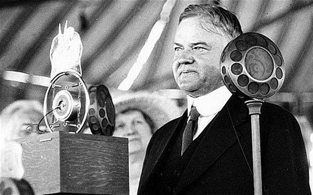 'Blessed are the young, for they shall inherit the national debt'    Herbert Hoover (31st President) 1929-1933. President during the Great    Depression.