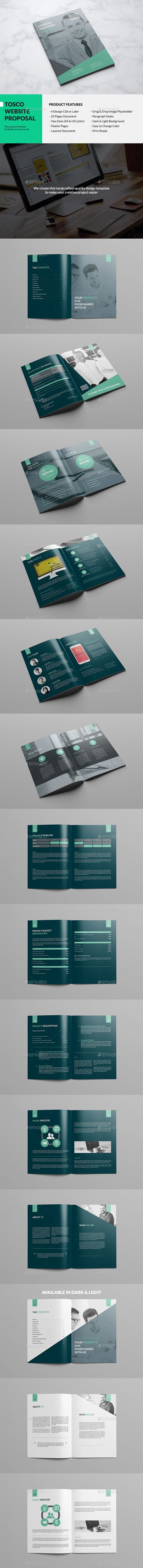 Tosco - Modern Website Proposal Template #design Download: http://graphicriver.net/item/tosco-modern-website-proposal/12984210?ref=ksioks