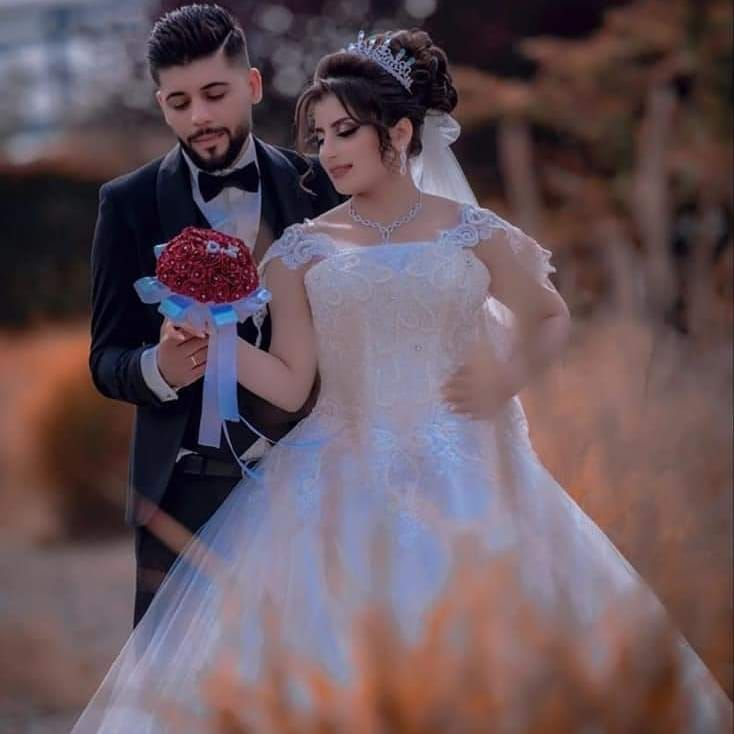 عروستنا الحلوة كانت طالعة متل القمر Hair By Darin Dusseldorf Makeup By Najjar Dima Hairstyle Bridalhairst Bride Wedding Photography Wedding Photographers
