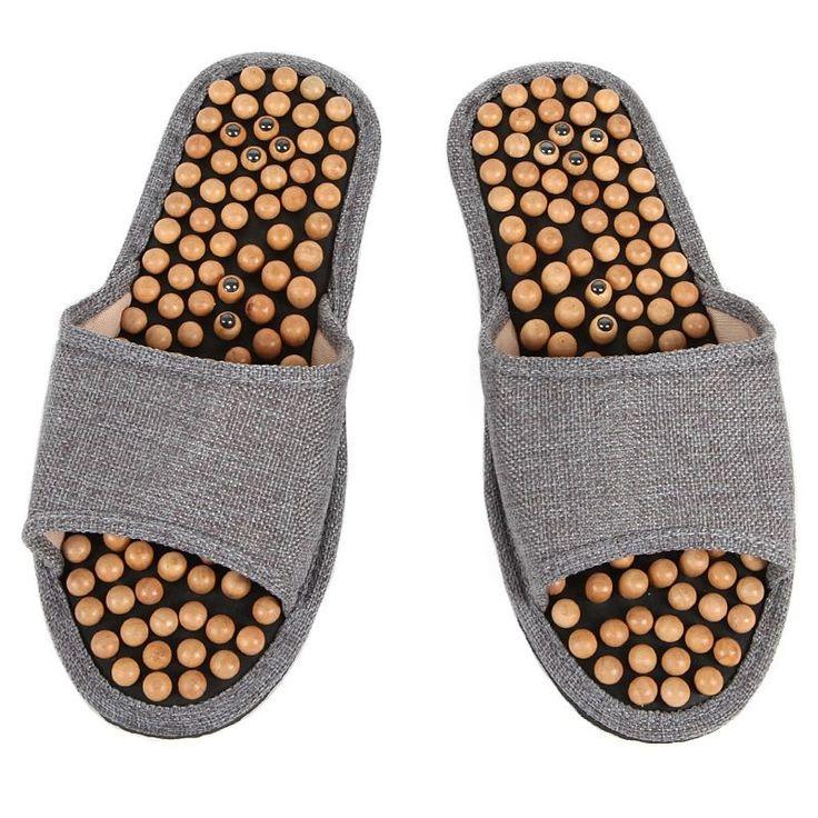 Sandales de réflexologie avec aimant - N&D