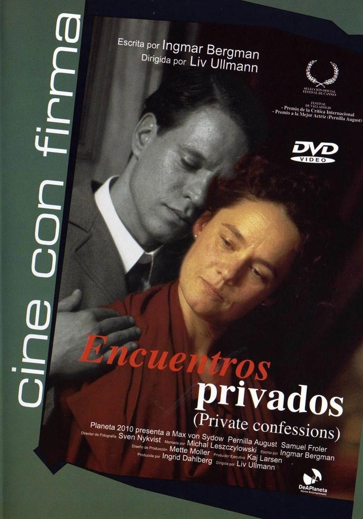 Encuentros privados (1996) Suecia. Dir: Liv Ullmann. Drama - DVD CINE 844
