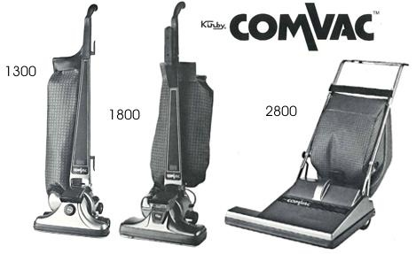 In the early 1980's, The Kirby Company offered a line of vacuums designed for commercial use called ComVac.#history