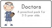 Doctors Preschool Pack product from LittleAdventuresPreschool on TeachersNotebook.com