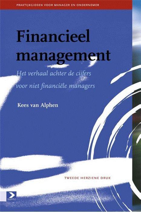 Financieel management  Niet iedereen heeft affiniteit met de financiële kant van de zaak. Dit ondervindt de auteur als hij bij organisaties en kleine of middelgrote ondernemingen komt. Het ontbreekt vaak aan financieel inzicht. De ondernemer focust zich meestal op het vaktechnische gebied of de commercie. De interesse voor cijfers beperkt zich veelal tot het saldo van de bankrekening en het maken van de kostprijscalculaties. Financieel management biedt een toegankelijke beschrijving van díe…