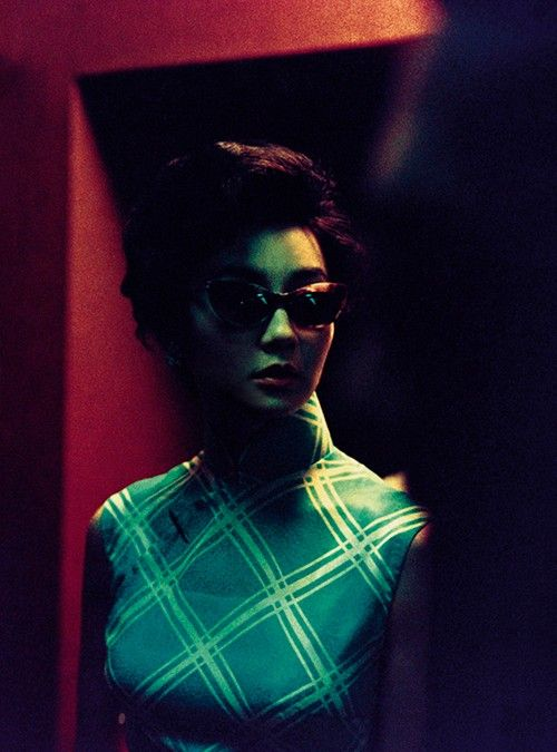 "Maggie Cheung in ""In the Mood for Love"" (2000). Fantastic colors in this film."