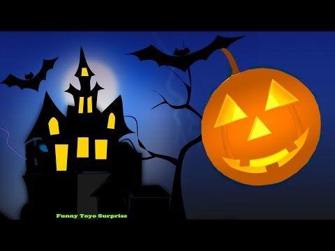 Halloween Haunted House Songs Children Elsa Skeletons Witch Ghost Monster Zombie Vampire Cartoon - YouTube