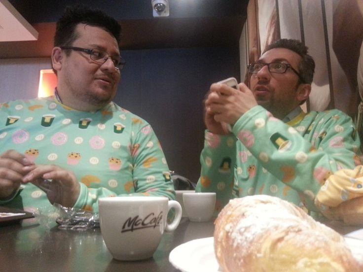 Colazione da McDonald's? In pigiama! #imlovinit