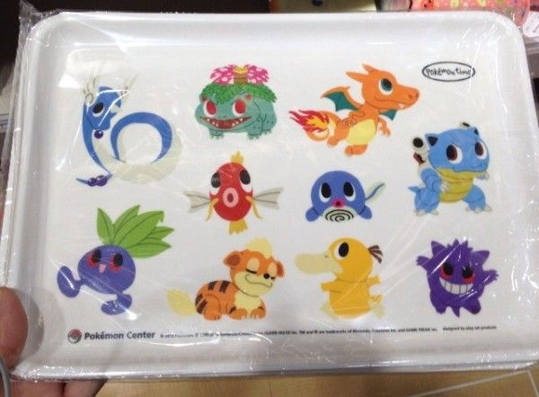 Pokemon Photos from Tokyo - Venusaur Blastoise Charizard Dragonair Gengar Pokemon time tray