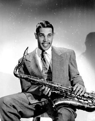 Just Pinned to Jazz: Young Dexter Gordon: One of Gordon's major influences was Lester Young. Gordon, in turn, was an early influence on John Coltrane during the 1940s and 1950s. http://ift.tt/29QS156