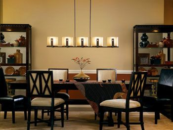 The Relaxed Montara Linear Chandelier From Kichler 42177OI Blends Olde World Styling With A Eclectic ChandeliersDining Room