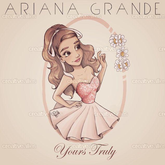 Ariana Grande Album Cover by Laia Lopez on CreativeAllies.com