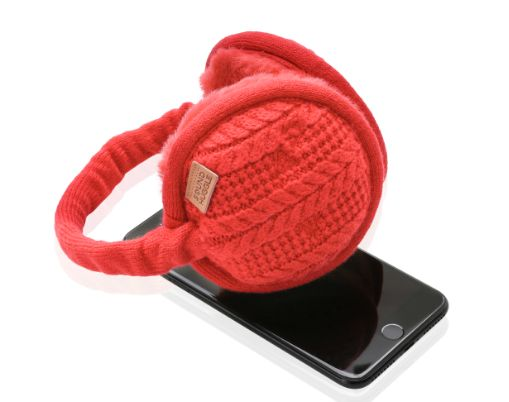 """""""Headphones that look good don't always sound good...but Sound Huggle - Hi-fidelity Wireless Headphone-muffs achieve both. These are micro-thermal headphone-earmuffs engineered for comfort, warmth and premium sound quality."""" https://www.indiegogo.com/projects/sound-huggle-the-world-s-coziest-hi-fi-headphone-headphones-technology#/"""
