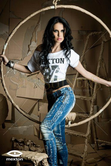 Jeans Mexton Predicted Fever Blue